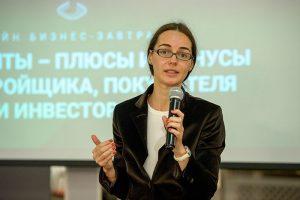 Анна Любимова, руководитель отдела маркетинга ГК «Еврострой»
